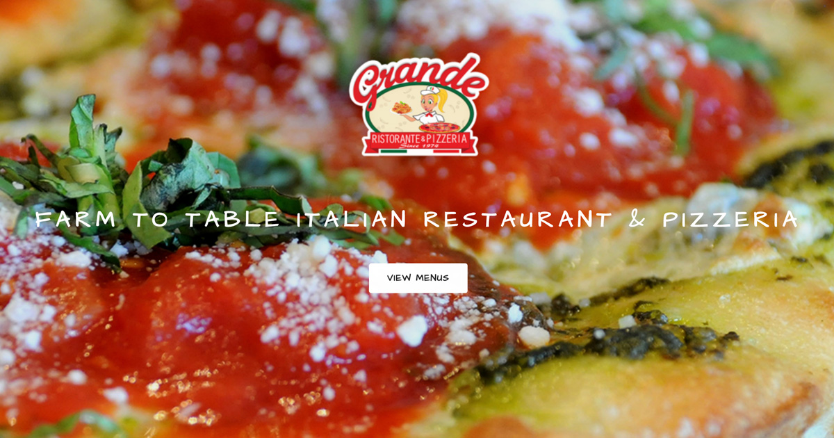Grande s is a farm to table italian restaurant in palm Italian restaurants palm beach gardens